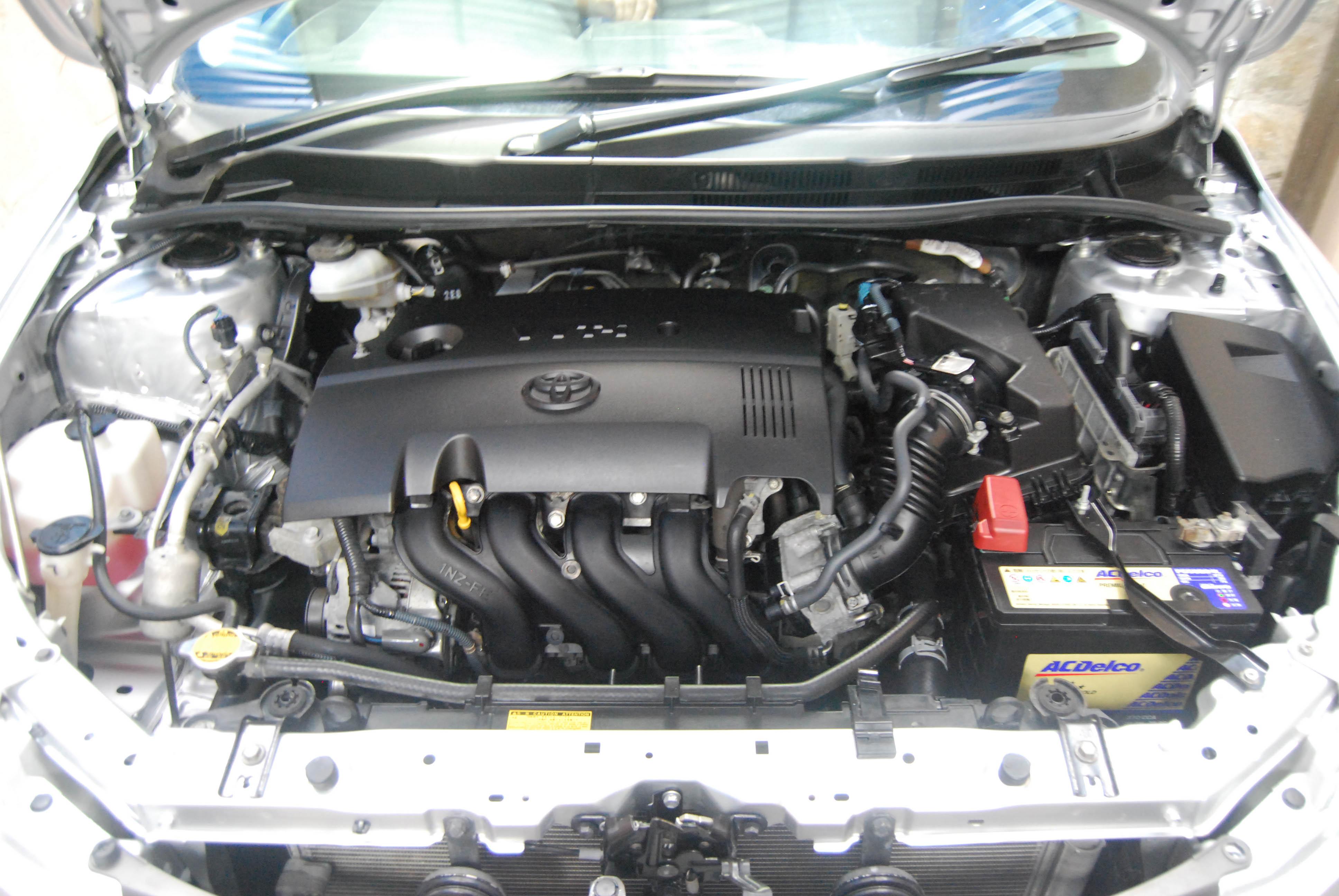 Axio X 2011 Old Shape Silver Reaz Motors Toyota Premio